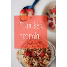 KT's Way: [ aamiaisen ihanin herkku- home made granola ]