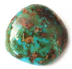 NATURAL ROYSTON TURQUOISE CABOCHON 33cts $132