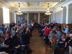 Alle tager billeder af alle - vi er svært begejstrede over hinanden;-) #fv15 #dkpol