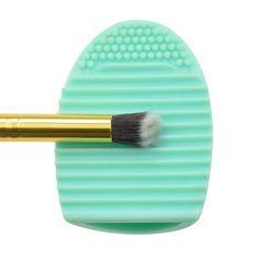Neue Pinsel Ei Silikon Make Up Pinsel Finger Wäscher Reiniger Pinselreiniger Heiß Von Rafi, $0.84 Auf De.Dhgate.Com
