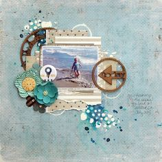 Beautiful layout by our Facebook winner - Kristine Baron Berc