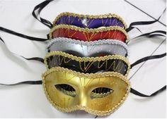 Wholesale Unisex Costume Venetian Party Mask Masquerade Masks Color Send Random   eBay