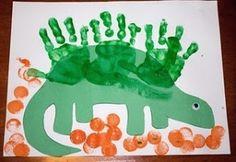 Preschool Dinosaur Art - Google Search