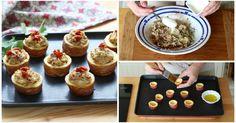 Receita passo a passo: como fazer tapas de batatas com queijo e tomates secos?