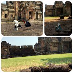 Hello from Prasat Phanom Rung, Burirum, Thailand.