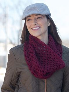 Granny Cluster Cowl: #free #crochet #cowl #pattern