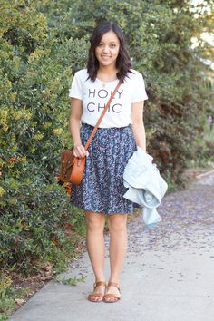 Laid Back Lunch Date, Love for A-Line Skirts, and My LOFT Sale Shopping Cart