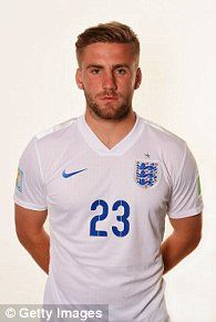 Luke Shaw of England poses during the official FIFA World Cup 2014 portrait session on June 2014 in Rio de Janeiro, Brazil. World Cup 2014, Fifa World Cup, England World Cup Squad, Super Start, Man United, Hot Blondes, Man Crush, Football Players, Rugby