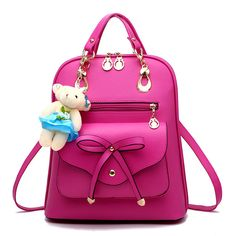 High quality PU leather backpack school travel bag women famous brands  bolsos mujer vintage backpacks black For Girls Teenagers 525de5ebfcfdb