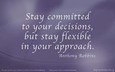Tony Robbins has inspired me to be consistent, and stay committed until I get the results I want:)