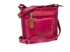 Marco Oceani Leather Bags modello Barbie girl , borsetta  a tracolla , pratica e sportiva  by Marco Oceani