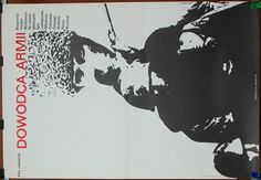 Poster. Russian  Soviet Union 1974 film - Army General by Teodor Vulfovich. Polish 1974 poster by J. Neugebauer. Limited poster. Drama (39.99 USD) by artwardrobe