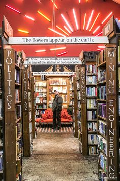 Barter Books in Alnwick, England is one of the best bookshops in the UK. It's worth a special trip. #books #bookstore #alnwick #england