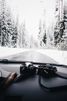 Winter Drive Let's take a trip to beautiful Winter Wonderland. The camera must not be missing for beautiful winter photos. Adventure Awaits, Adventure Travel, Nature Adventure, Photos Voyages, Foto Pose, Winter Photography, Travel Photography, Adventure Photography, Photography Camera