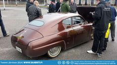"""Yesterday was the Saab-Club Finland spring meeting. I'll post some general photos in another post, but here's some photos of a really nice Saab 96 custom called """"Helga"""". Sax Man, Koenigsegg, African History, Volvo, Cars And Motorcycles, Classic Cars, Automobile, Bike, Vehicles"""