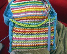 futuregirl.com Tunisian crochet purse