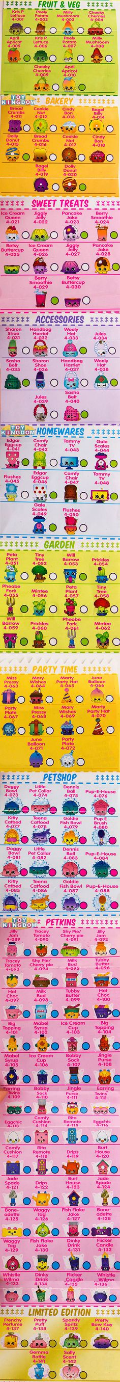 photo about Printable Shopkins List referred to as 36 Excellent Shopkins listing photos within 2019 Shopkins