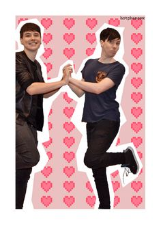 ... Phan? Shipping. So much shippings.... I do not ship anything btw. I just found this... (Checking back to this... WOW SO MANY PINS! You people must love Phan.)