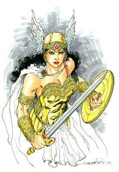 Wonder Woman by Aaron Lopresti