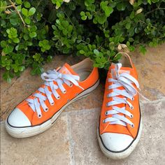 e07a0f114157 11 Best Orange converse images
