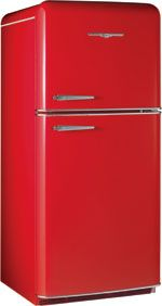 Yep. There_is_such a thing as a wicked cool refridgerator! The candy apple red Model 1952 Northstar with Top Mount Freezer :P