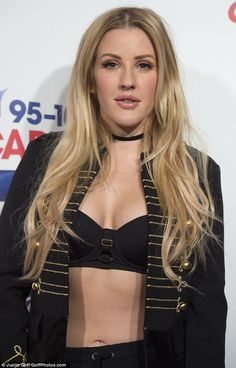 Ellie Goulding flaunts her washboard abs in military-inspired co-ords at Jingle Bell Ball Ellie Golding, Hair Rehab London, Taylor Swift Hot, Digital Art Girl, Blusher, Female Singers, Hereford, Celebrity Photos, Hot Girls