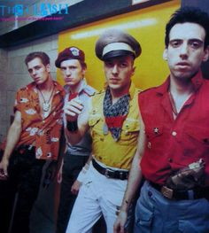The Clash - I saw them in 1984 - Wow! What a show <3