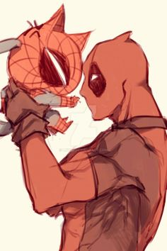 Spideypool55 by LKiKAi on DeviantArt