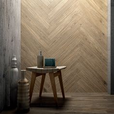 Porcelain stoneware wall/floor tiles with wood effect ARTHIS VAPOR Arthis Collection By Ceramiche Caesar