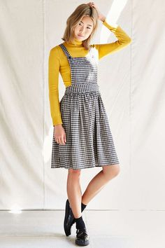 Urban Renewal Remade Overhaul Apron Dress - Urban Outfitters