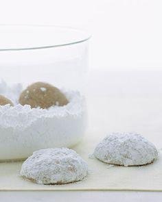 Pfeffernussen Cookie Recipe - Martha Stewart Recipes
