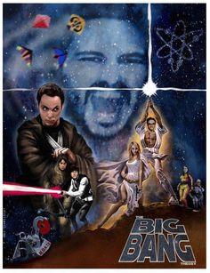 Big Bang Star WarsPoster