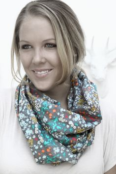 Indelible Voile Scarf | Katarina Roccella for Art Gallery Fabrics