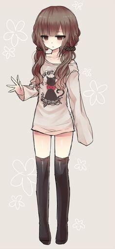 gambar anime, anime girl, and art