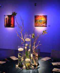 table scape - simple but so dramatic!