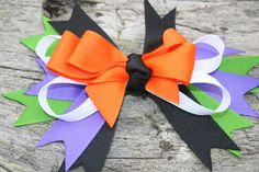 This would be cute for halloween! Handmade large boutique style Halloween by RockabillyBabyPlace, $2.00