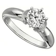 Contemporary Engagement Ring by http://www.engagediamonds.com/