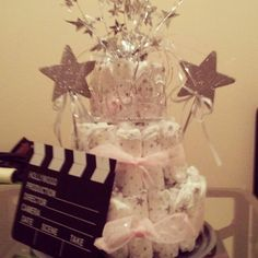 a+star+is+born+cakes   Diaper Cake - A Star is Born Theme