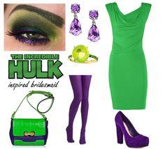 Hulk Bridesmaid