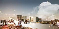 Rendering, Culture Center, summer (Image: David Garcia Studio and Henning Larsen Architects)