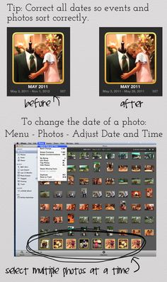 How to Organize and Print Years Worth of Photos - another reason for a Mac.