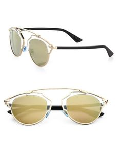 efaba1f23bbb Dior - So Real 48MM Pantos Sunglasses Round Face Sunglasses