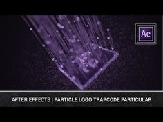 After Effects - Particle Logo Trapcode Particular Tutorial - YouTube