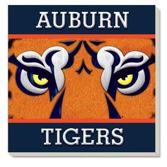 Coasters - Auburn Fan