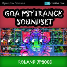 ► Roland JP8080 GOA PSYTRANCE SOUNDSET - presets for Roland JP8000 series hardware synths. Designed for psychedelic producers in need of tough, twisted new sounds. Genres: Psytrance, Goa, Psy, Progressive, Techno, Progressive House. More info: http://www.123creative.com/electronic-music-production-hardware-synth-presets/1310-roland-jp-8080-goa-psytrance-soundset.html