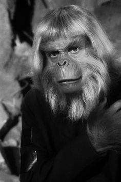 Booth Colman as  Zaius on Planet of the Apes TV  series
