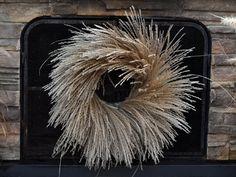 tiger grass wreath