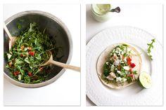 Halibut tacos, Halibut and Seafood on Pinterest