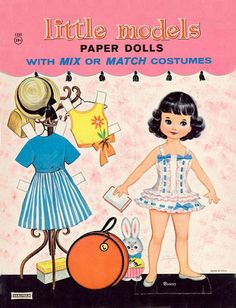 Paper Dolls~Little Models - Bonnie Jones - Picasa Web Albums