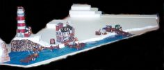 A great idea for the lighthouse, docks, and boats. LEMAX Collectibles Village Hints and Tips